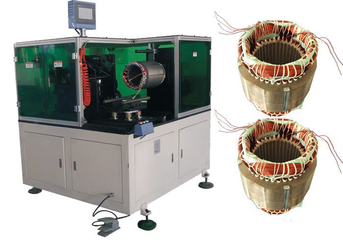 Motor Stator Servo Single Side Coil Lacing Machine Motor Production Machine SMT - DW350