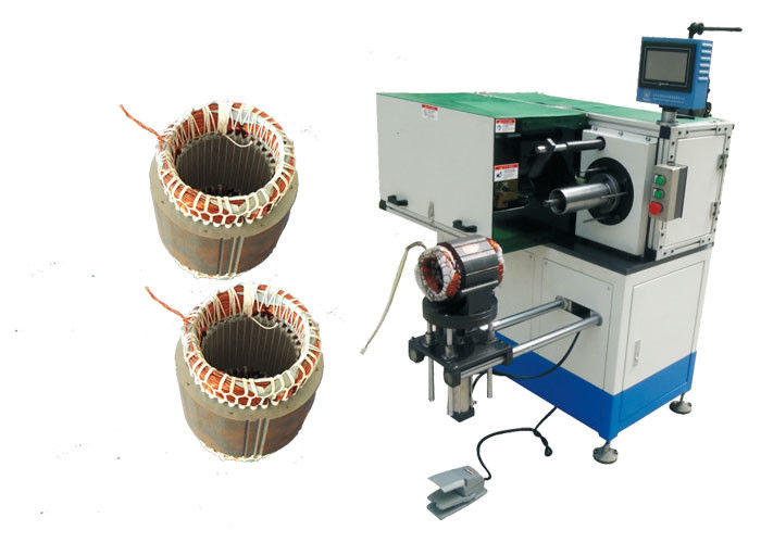 Electric Induction Motor Coil Winding Inserting Lacing Machine SMT-DW300