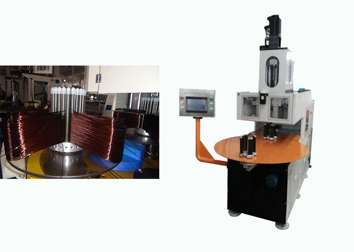 7Kw Fan Stator Winding Machine ≤ 3000r/min Wire Speed ISO9001 / SGS