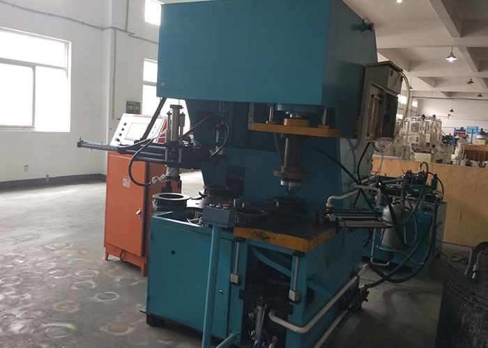 Aluminium Wedge Cutting Machine Electric Motor Machine With Cooling System
