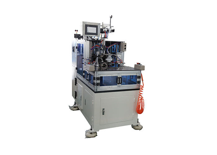 Automatic Single Phase Motor Stator Winding Machine For Motor Coil Lacing 0.4MPa